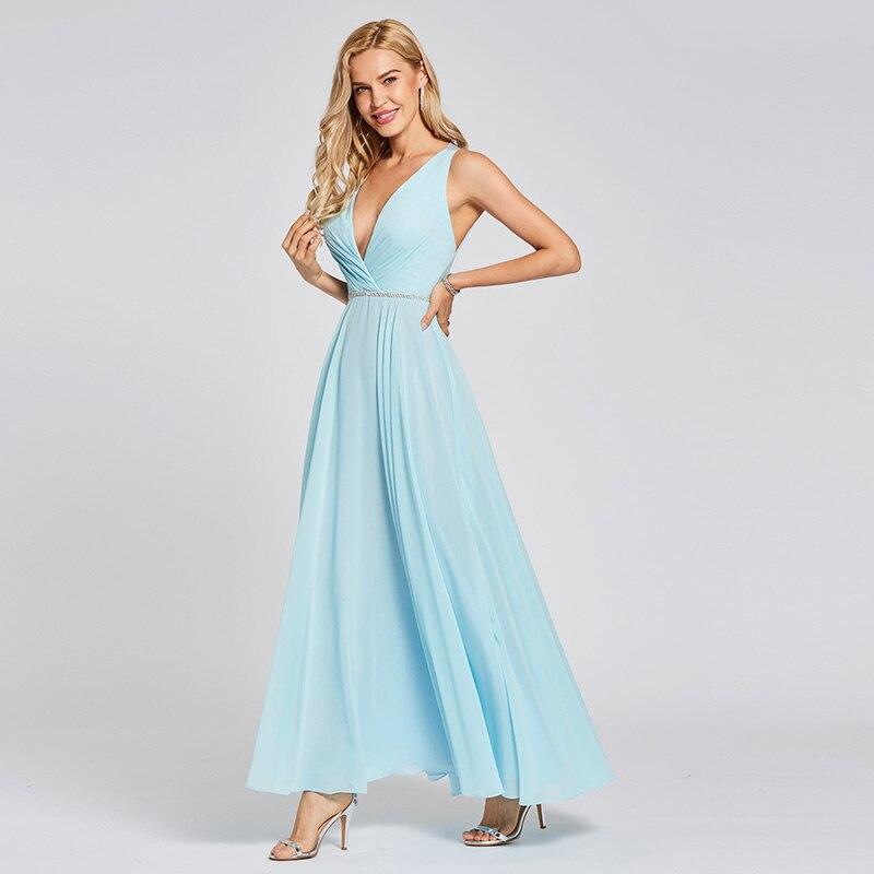 e0136cec6c5328b 2019 Suosikki женские градиентные вечерние платья с v-образным вырезом и  блестками, вечерние платья. Tanpell ...