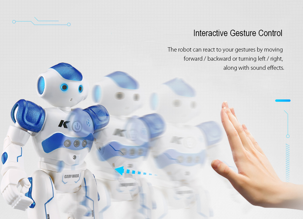 JJRC R2 RC Robots IR Gesture Control Robot RC Robot Toys (3)