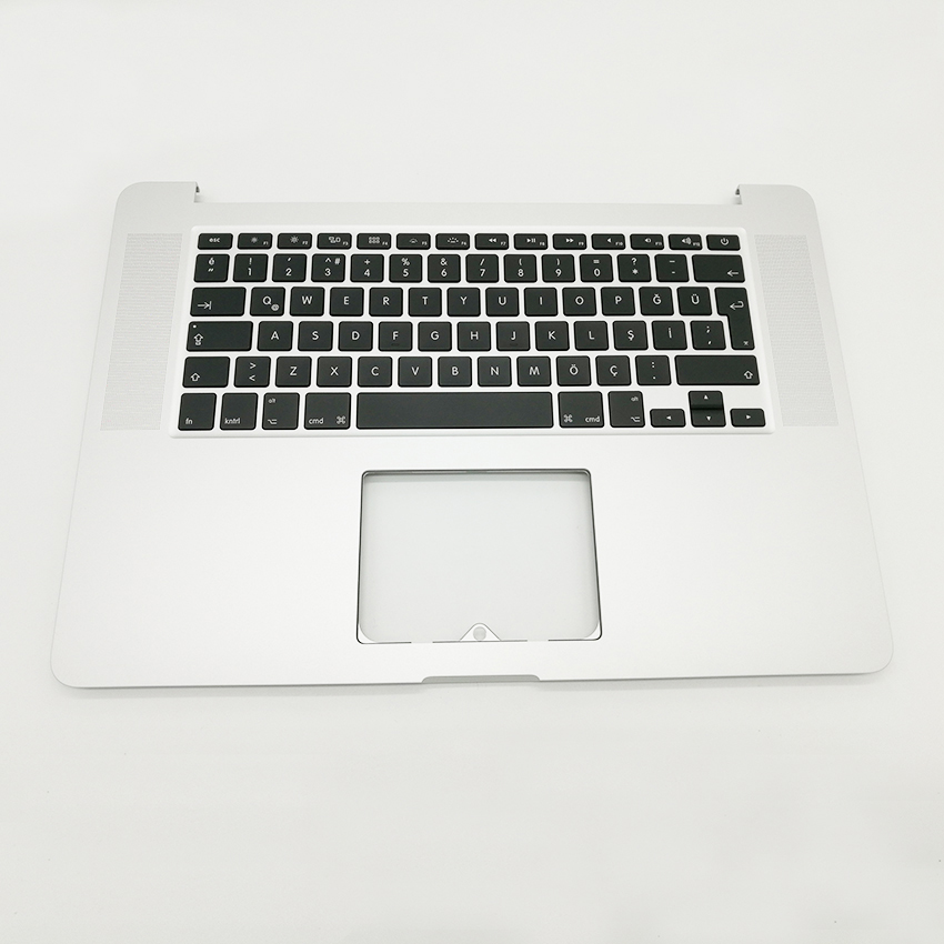Brand New For MacBook Pro Retina 15 A1398 TR Turkish Turkey Top Case Topcase keyboard Palmrest MC975 MC976 2012 Year 10pcs lot brand new lcd screen rubber frame ring for macbook pro 13 retina a1502 a1425 2012 2013 2014 2015 year