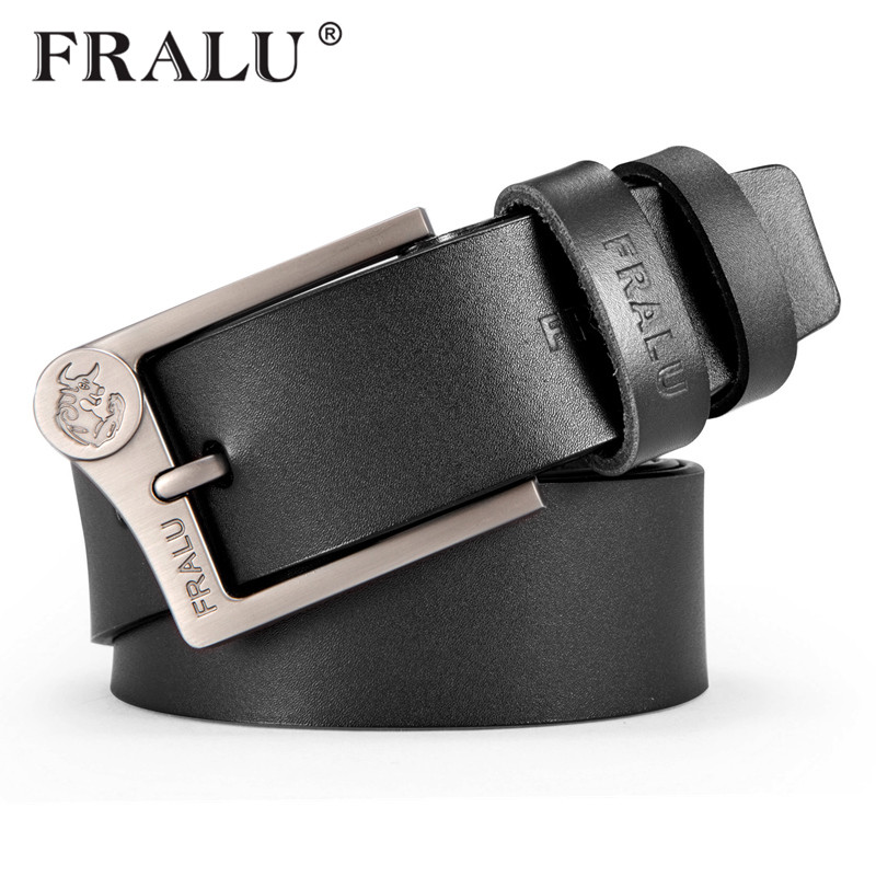 New 100% cowhide genuine leather   belts   for men cowboy Luxury strap brand male vintage fancy jeans designer   belt   men high quality