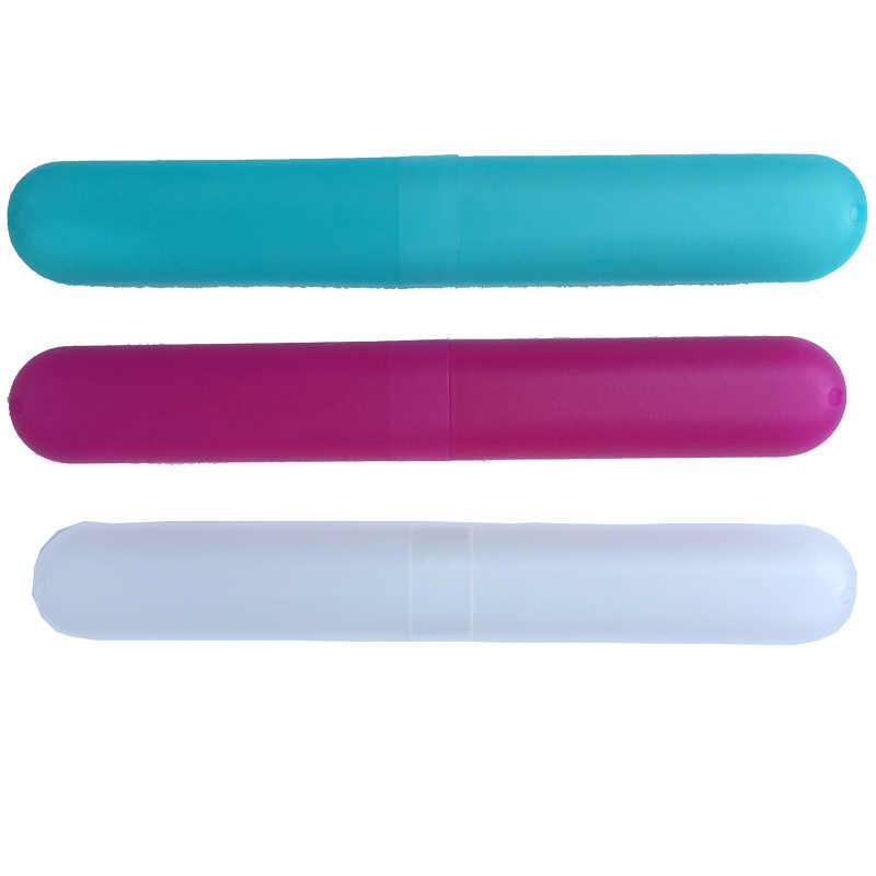 Wysokiej jakości mody wygodne podróży Camping szczoteczkę do zębów uchwyt do pasty do zębów pokrywa Protect Case Box kubek gorąca 59X9 przenośna T