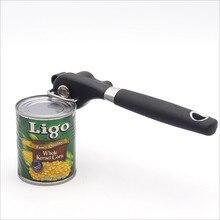 Cocina de alta calidad Abridor de Latas Manual Ergonómico Profesional Manual de Corte Lateral Abrelatas Lata Abrelatas cuchillo