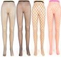 1 Pc de Moda de Nova Mulheres Lady Sexy Fishnet Bodystockings Net Padrão Meias Calças Justas Meias