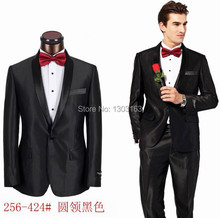 2016 New Fashion Men's Handsome Tuxedos,Luxury Branded Dress Business Suits,Branded Designer wedding Suits,size S-5XL coat+pants
