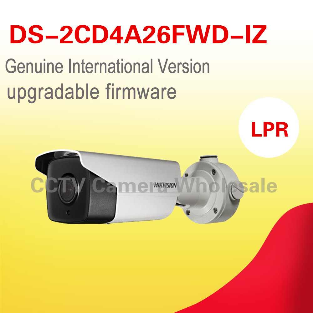 English version DS-2CD4A26FWD-IZ 2MP Low Light Smart Camera Support 128G on-board storage POE hikvision ds 2de7230iw ae english version 2mp 1080p ip camera ptz camera 4 3mm 129mm 30x zoom support ezviz ip66 outdoor poe