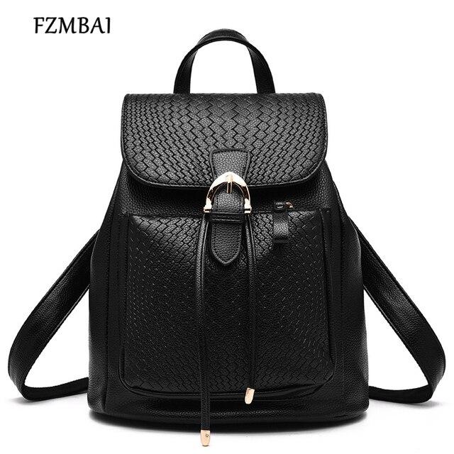 0f1cb5be577 Fashion Women Leather Backpack,New Korean Version Shoulder Bag Leisure  Black Travel Bag
