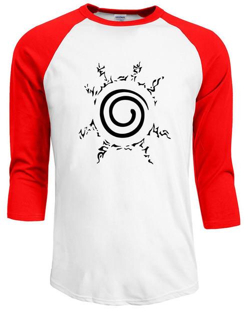 Uzumaki Naruto Raglan Sleeve T-Shirt