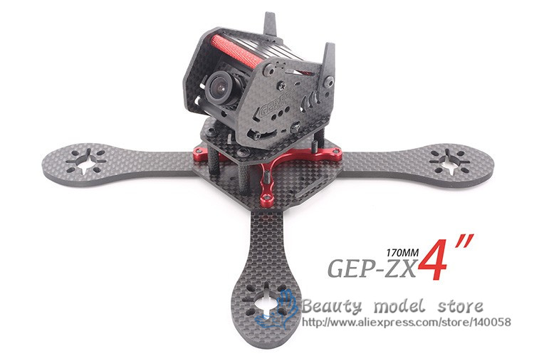 NEW GEPRC GEP-ZX4 GEP-ZX5 GEP-ZX6 170mm 190mm 225mm 4-Axis Carbon Fiber Frame with Camera Bracket for FPV Racing Quadcopter PDF дефлекторы окон skyline ford focus 1 98 04 sd zx5 and zx4 mark 1 4 шт