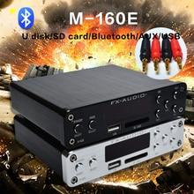 FX-Audio M-160E Bluetooth@4.0 Digital Audio Amplifier Input USB/SD/AUX/PC-USB Loseless Player For APE/WMA/WAV/FLAC/MP3 160W*2
