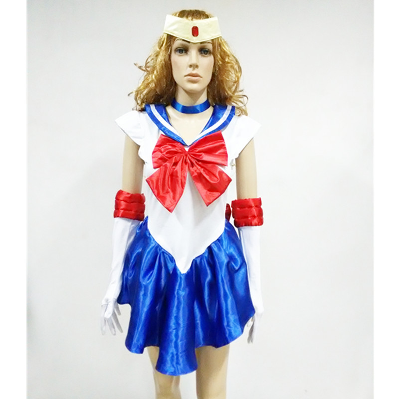 new arrival wholesale halloween costume sexy sailor moon costume cartoon movie cosplay fancy dress m4981 in sexy costumes from novelty special use on