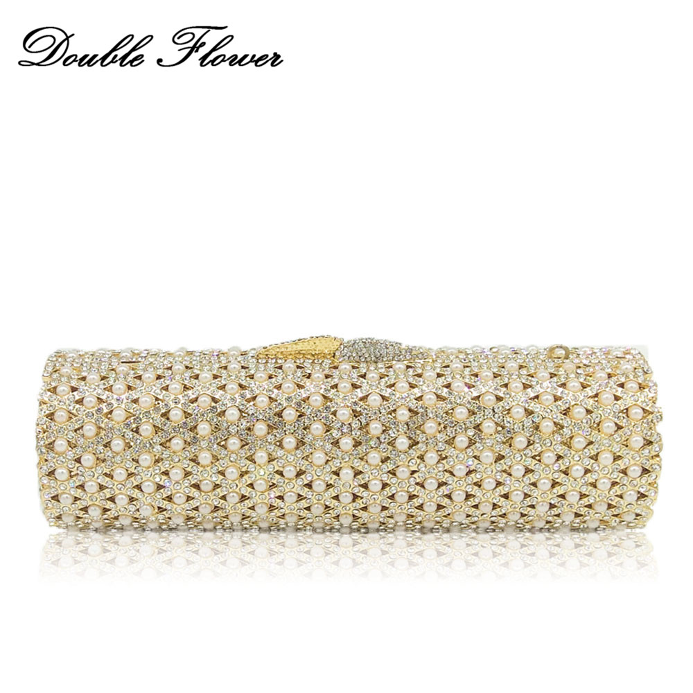 Double Flower Socialite Women Crystal Evening Minaudiere Bags Metal Hard Case Ladies Beaded Clutch Handbag Bridal Wedding Purse new opportunities russian edition upper intermediate аудиокурс на 4 cd