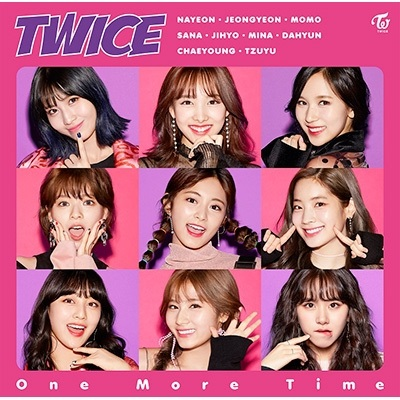 Twice - One More Time - Japan released album  - Release date : 2017.10.18 цены онлайн