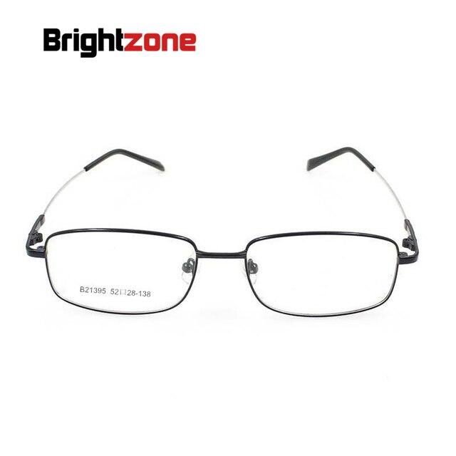 Aleación de Metal de titanio flexible borde completo gafas ópticas ...