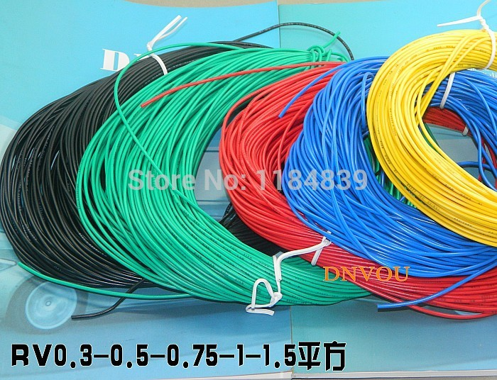 10meters/lot, 20awg Insulated Wire,RV Electrical Wire ,Modification ...