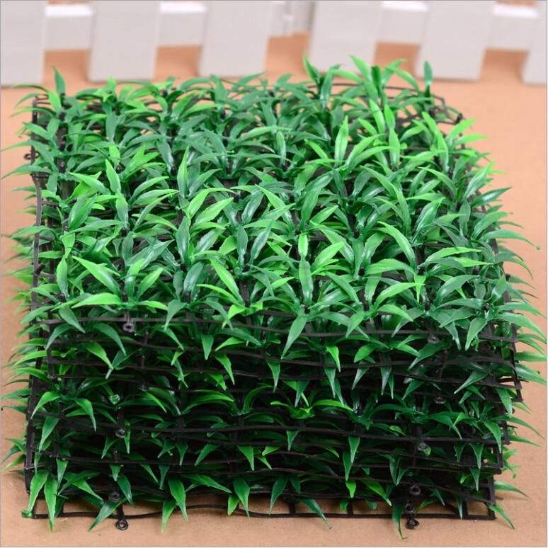 Aliexpress com Buy 25cm 25cm 10 pieces lawn carpet High simulation man made  plastic fake grass. Home Made Decoration Pieces  universalcouncil info
