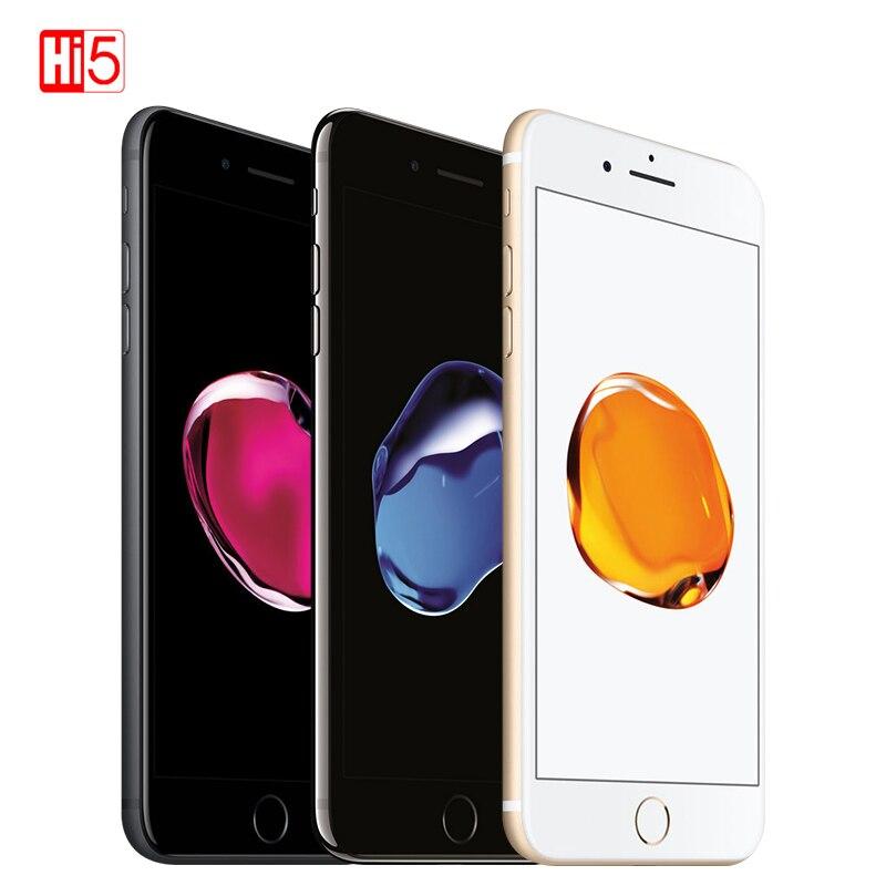 Débloqué Apple iPhone 7 Plus 5.5 pouces 32G/128GB WIFI 12MP IOS 11 LTE 4G 12.0MP caméra Smartphone empreinte digitale téléphone mobile