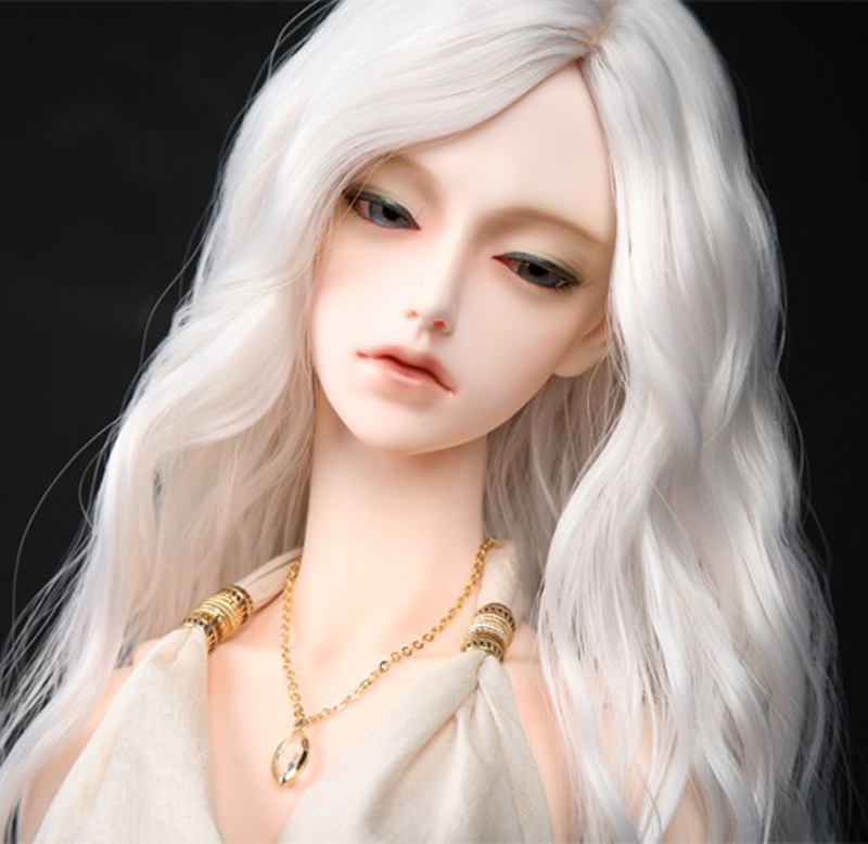Free Shipping New Arrival 1/3 8-9 Bjd SD Doll Wig High Temperature Wire Long Fashion Wavy For BJD Super Dollfiles Hair Wig 8 9 bjd wig silver knights of england volume mohair wig spot