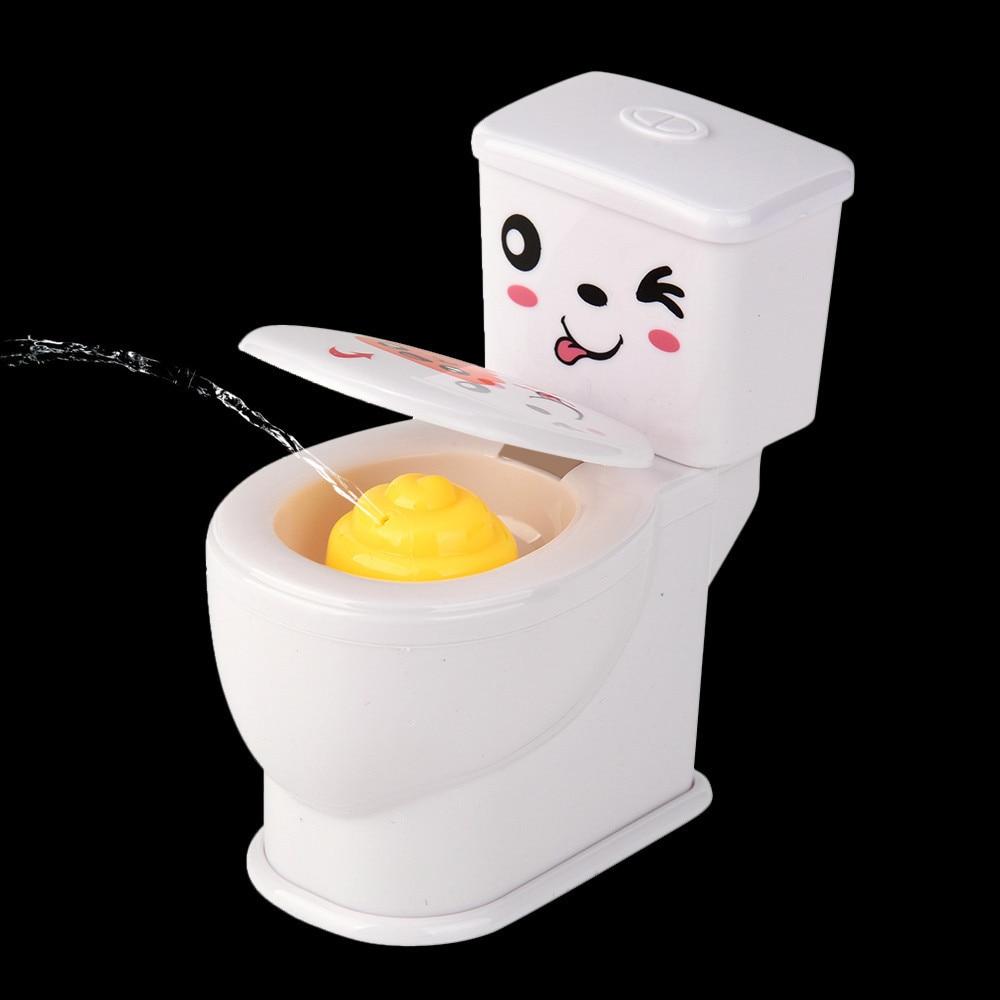 Funny gadgets antistress gadgets Mini Prank Squirt Spray Water Toilet Oyuncak Closestool Joke Gag Toy Gift 20S8208 drop shipping electric shock joke prank trick toy pen gift s7jn