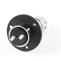 Frete grátis Flange de Fixação GX20 2 Pin Aviação Conector Plug 19mm de Diâmetro