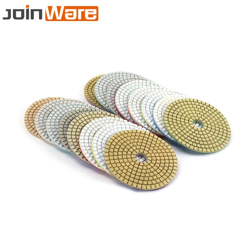 3 Inch Diamond Polishing Pads Buffing Disc Wet//Dry Granite Stone Marble Glass