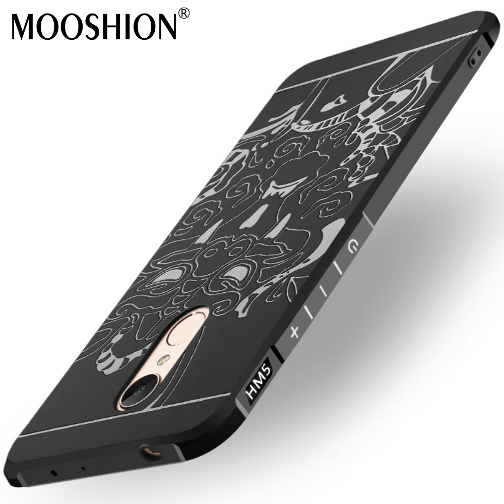 MOOSHION Luxury Anti-Knock Silicone Case for Xiaomi Redmi 5 Plus Cases for Xiaomi Redmi5 Plus Case TPU High Quality Phone Cover