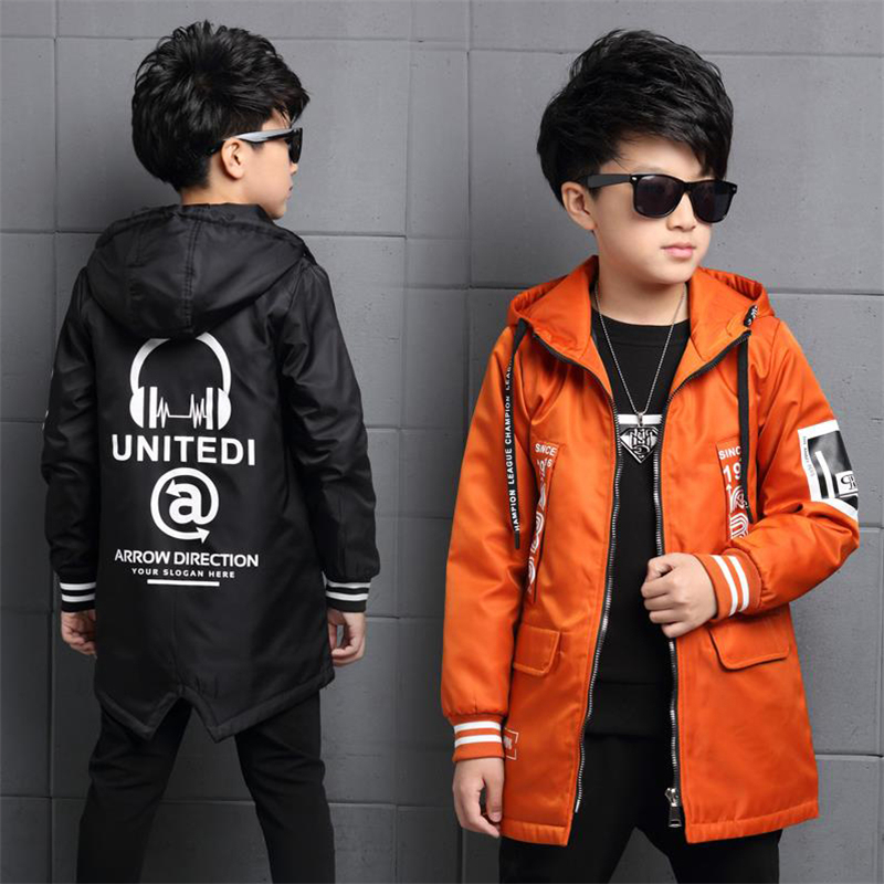 2018 new autumn and winter coat of boys in the long section of thick autumn thicker cotton children windbreaker 2017 autumn and winter new women in the long paragraph thick cotton jacket 3399