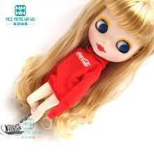 Blyth pop Kleding mode hooded brief sweatshirt voor blyth azone ob24 1/6 Poppen Accessoires(China)
