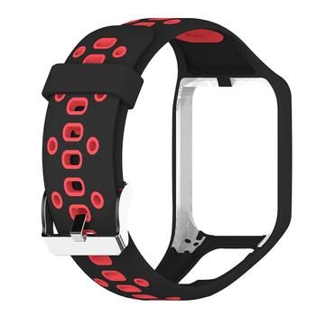 Silicon Replacement Watch Band For TomTom 2 3 Series Runner 2 3 Spark Golfer 2 Adventurer Wrist Band Strap GPS Watch Fitness Tra