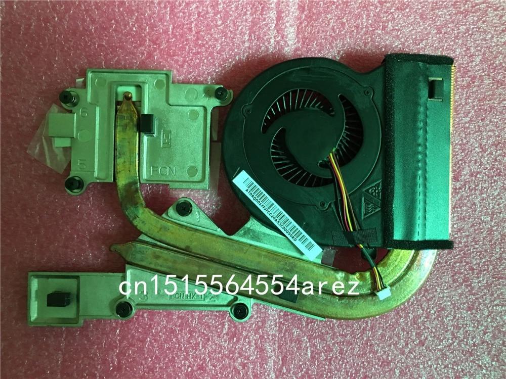 Original laptop Lenovo Y400 CPU Cooling Fan, Heatsink Assembly Radiator Cooler 90201967 original laptop lenovo thinkpad w510 t510 cpu cooling fan heatsink assembly radiator cooler 60y5494