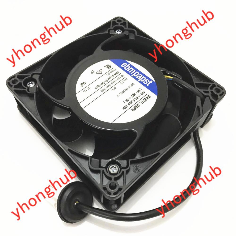 ebm papst DV5218 2NPR DV52182NPR DC 48V 23W 125x125x38mm Server Cooler Fn
