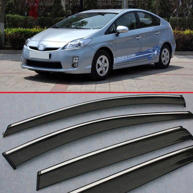 Для Toyota Prius 2012-2015 Окно Ветер Дефлектор Козырек Дождь/Вс Гвардии Vent