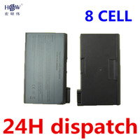 HSW 5200MAH Replacement Laptop Battery For DELL Latitude CPX CPXH CPXJ CPXJ650GT CPI 6H410 8M815 77TCJ