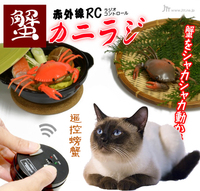 Free Shipping, Wireless Electric Toy for Cats and Dogs, Electric Remote Control Crab Toy