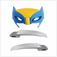 OCDAY X-men Wolverine claws Anime 25 centímetros ABS Action Figure Brinquedos Armas Longas Garras Superhero Máscara Cosplay Para presentes do dia das bruxas(China)