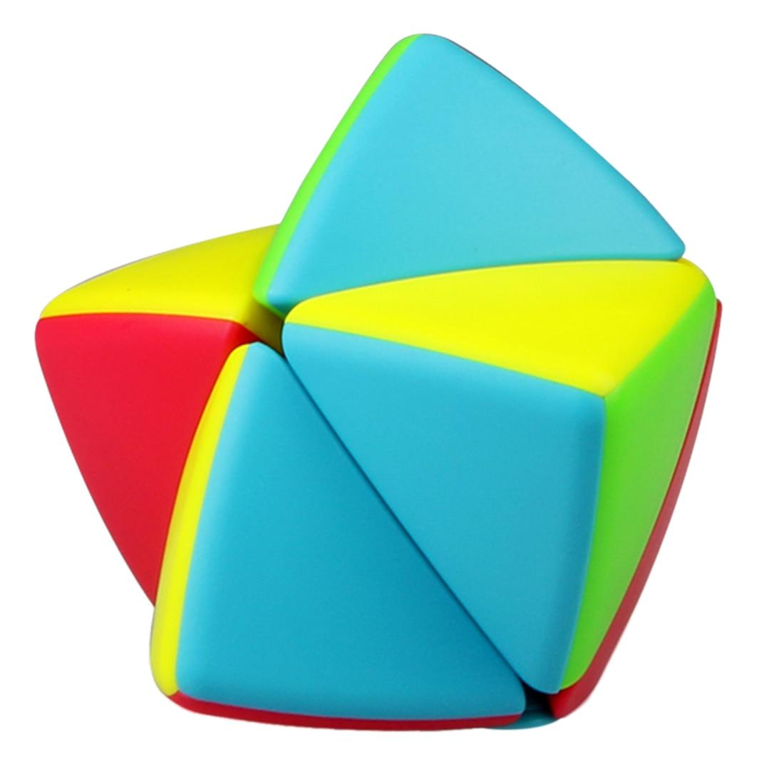 Qiyi 2x2 Mastermorphix Magic Cube Educational Toys For Brain Training - Colorful