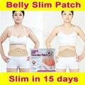 Não Pills sem dieta! 100% de efeito forte perda de peso Slim PATCH queima de gordura maravilha quente remendo 15 dias emagrecimento fácil 1 BOX = 5 PCS