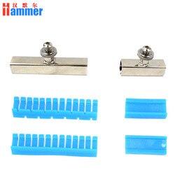Niebieski zestaw narzędzi do kleju do samochodu Paintless narzędzie do naprawiania wgnieceń Auto dent zestaw narzędzi do dużych i długich dent super klej Tabs|Zestawy narzędzi ręcznych|   -