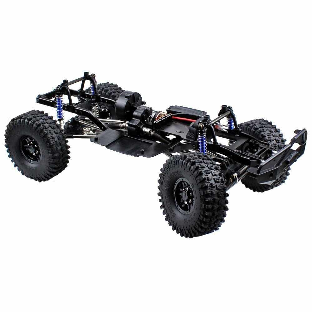 """MEREPACCOR 313mm 12.3 """"Wielbasis Gemonteerd Frame Chassis voor 1/10 RC Crawler Auto SCX10 SCX10 II 90046 90047"""