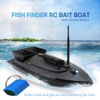 Новый RC Рыбалка лодка Smart радиоуправляемая лодка корабль игрушка Цифровой автоматическая частота модуляции 2,4 г 5200 мАч 500 м Быстро добавить