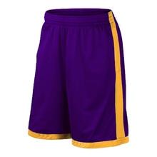 2019new дизайн спортивные мужские шорты для занятия баскетболом с двойными боковыми карманами 18 цветов европейский стиль