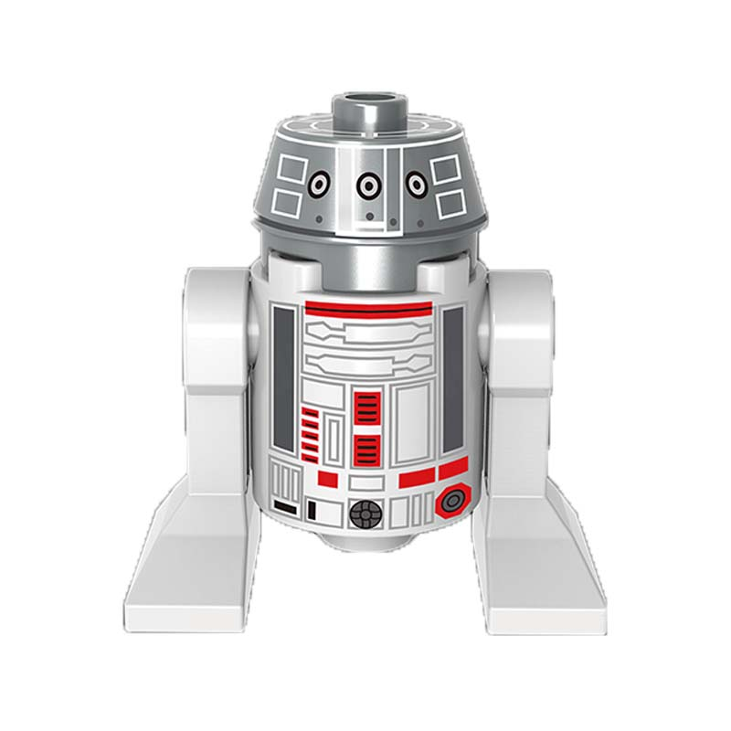R490 Mini Dolls Single Sale The Last Jedi Smart Robot Bb8 R2-D2 C-3Po Darth Vader Building Blocks Toys For Children