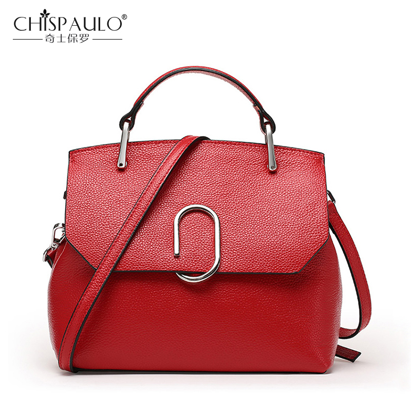 2017 Genuine Leather Women Bags High Quality Ladies Shoulder Bags Famous Brand Luxury Handbags Women Bags Designer