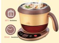 Panela quente elétrico cozido macarrão pote de água fervente/água fervente/chá perfumado/panela quente guisado/shabu/mingau/preservação do calor
