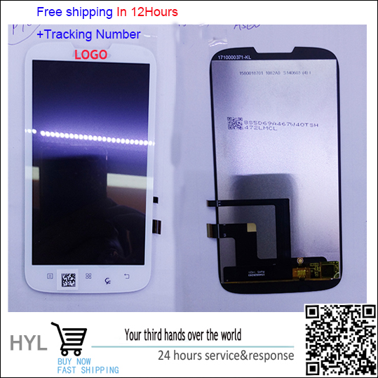 Original Touch screen digitizer+LCD display For lenovo a560 fast shipping tracking number
