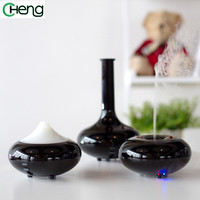 Black New Fashion Mini Air Purifier And Ultrasonic Humidifier Aroma Essential Oil Diffuser Home And Office