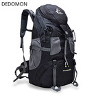 50L Waterproof Outdoor Climbing Backpack Camping Hiking Softback Rucksack Mountaineering Molle Travel Cycling Jogging Sport Bags