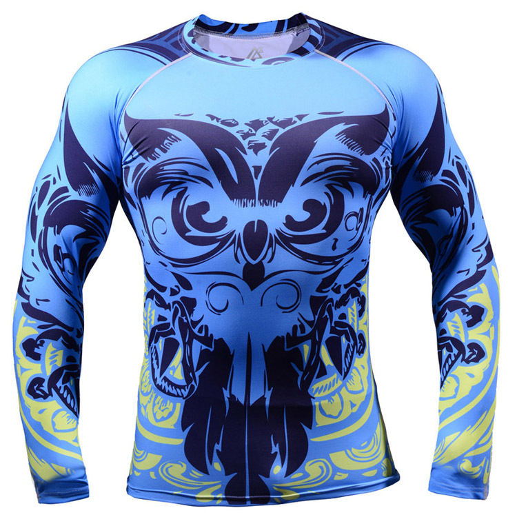 2015 new Long Lasting 3d Graphic jerseys owl long sleeve Cycling Jersey Comfortable fitting active font