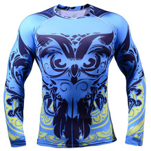 2015 new Long-Lasting 3d Graphic jerseys owl long sleeve Cycling Jersey Comfortable-fitting active Mens MTB Road Bicycle Shirts