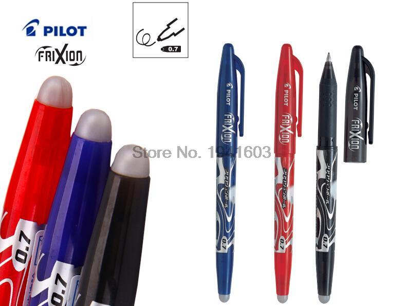 Erasable Gel Pen 0.7MM JAPAN PILOT FRITION LFB-20F RollerBall pen Office & school stationery Wholesale 2pcs/lot FREE SHIPPING fountain pen m nib original japan pilot 88g office and school stationery 2016 new the best gifts free shipping