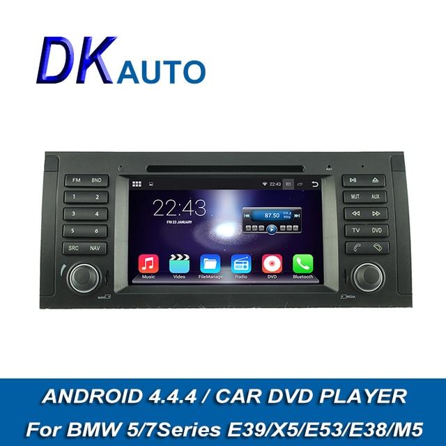 car radio 1 din android for bmw e38 e39 e53 x5 auto stereo usb cd gps navigation 7 inch. Black Bedroom Furniture Sets. Home Design Ideas